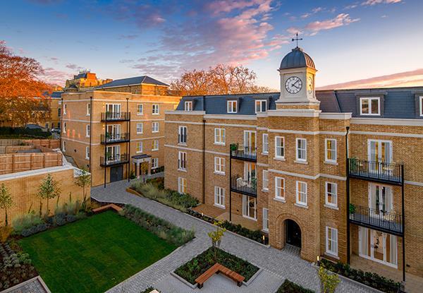 The Mansions, Wimbledon Hill Park, Wimbledon - Andrew Scott Robertson